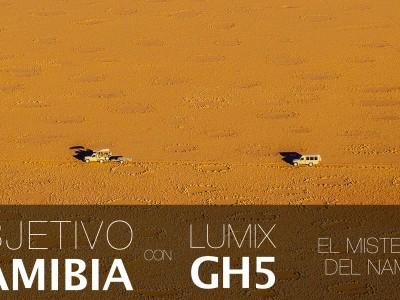 Cartela Lumix GH5 - Youtube Misterio Namib